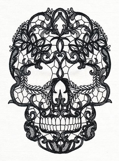 Sugar Skull Outlines Inspirational 24 Best Sugar Skull Tattoo Outlines Images On Pinterest