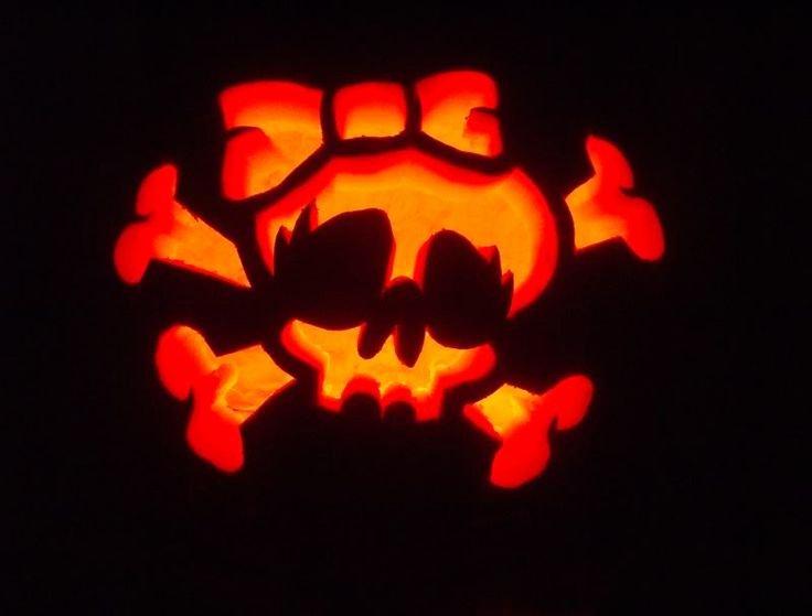 Sugar Skull Pumpkin Carving Stencils Elegant 1000 Ideas About Skull Pumpkin On Pinterest