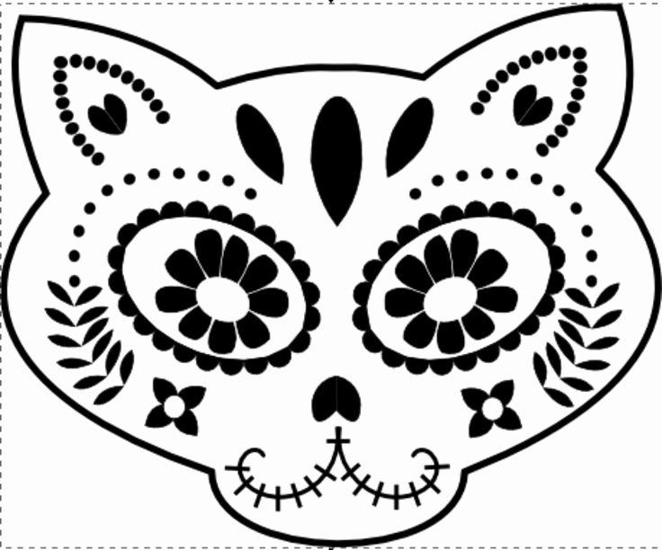 Sugar Skull Pumpkin Carving Stencils Inspirational 1000 Images About Pumpkin Palooza Stencils On Pinterest