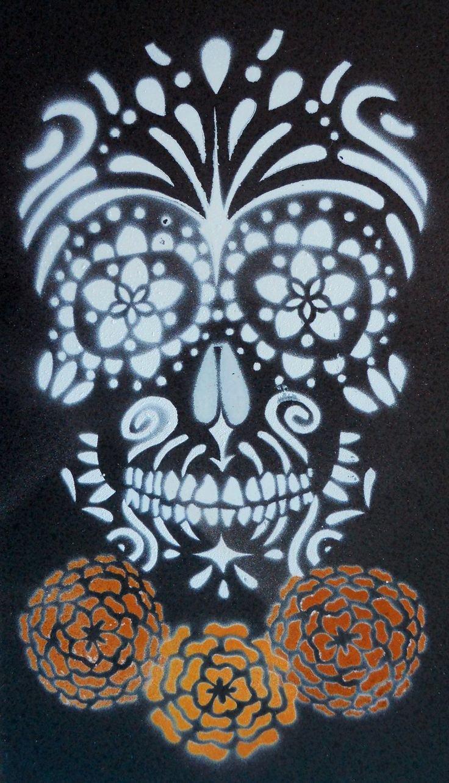 Sugar Skull Pumpkin Carving Stencils Lovely Best 25 Skull Stencil Ideas On Pinterest