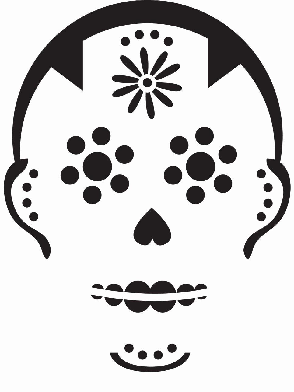 Sugar Skull Pumpkin Carving Stencils Luxury Free Downloadable Pumpkin Carving Patterns