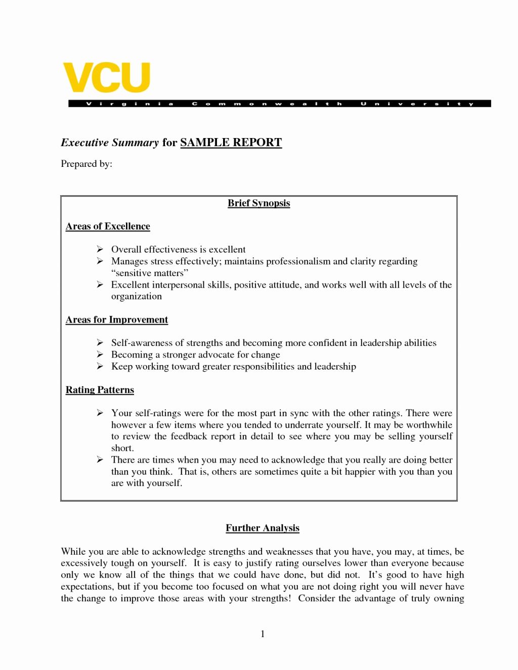 Summary Report format Awesome Sample Executive Summary A Report Template Business
