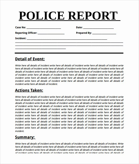 Summary Report format Lovely Summary Report Template 10 Free Pdf Word Apple Pages