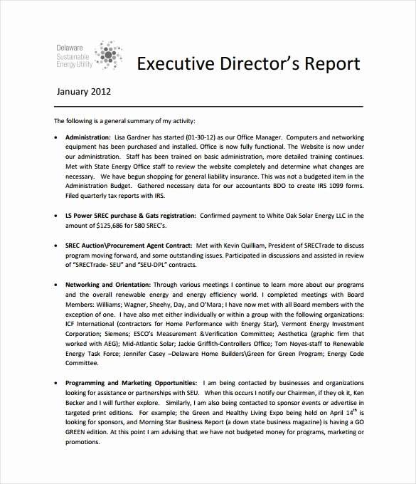 Summary Report format New Executive Report Template 15 Free Sample Example