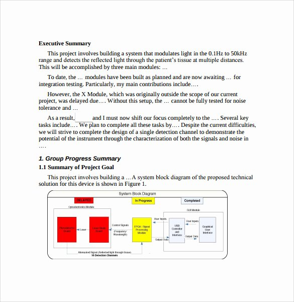 Summary Report format Unique Summary Report Template 10 Free Pdf Word Apple Pages