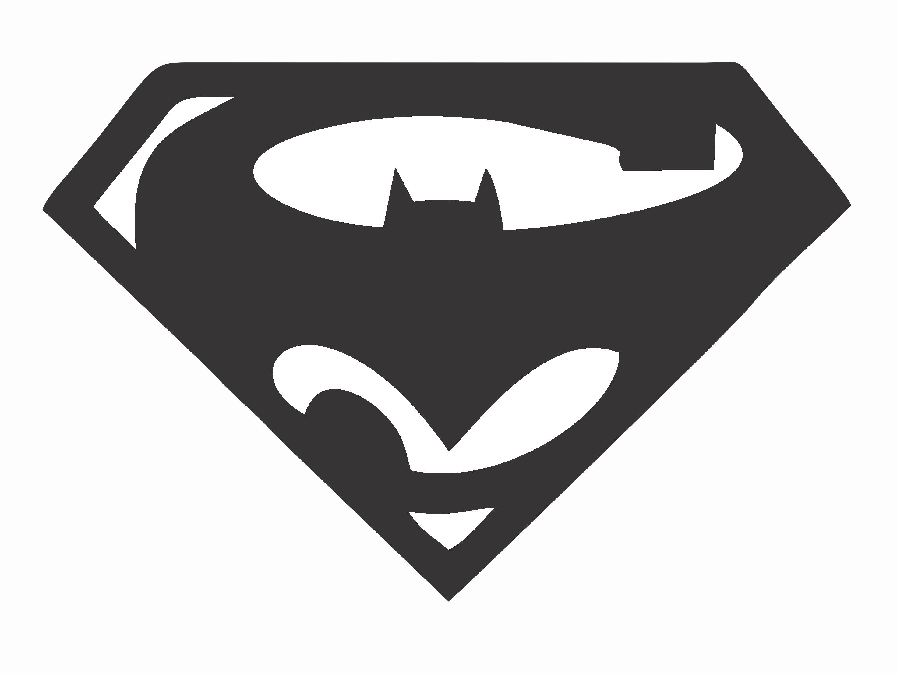 Superman Logo Stencil Awesome Batman Vs Superman Super Hero