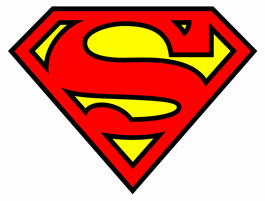 Superman Logo Stencil Awesome Glimmer and Grit Diy Clark Kent Superman Kids Costume