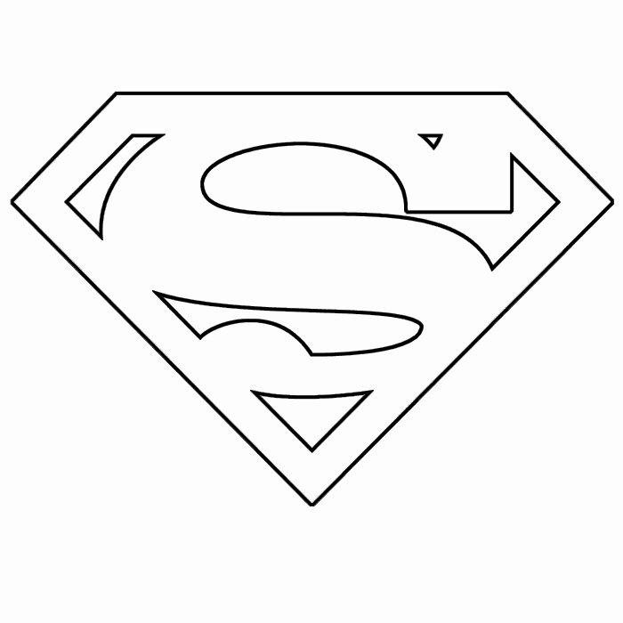 Superman Logo Stencil Beautiful 13 Best S Of Superhero Printable Stencils Superman