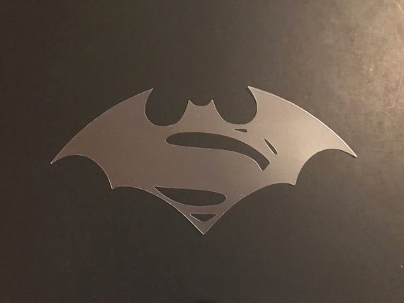 Superman Logo Stencil Beautiful Batman Vs Superman Logo 1 Stencil 7mil Buy 2 Get 1 Free