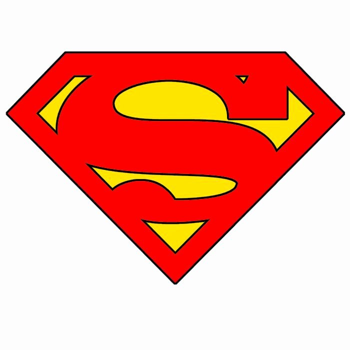 Superman Logo Stencil Inspirational 123 Best Images About Templates On Pinterest
