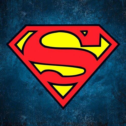 Superman Logo Stencil Luxury Superman Logo Texture Square Entertainart