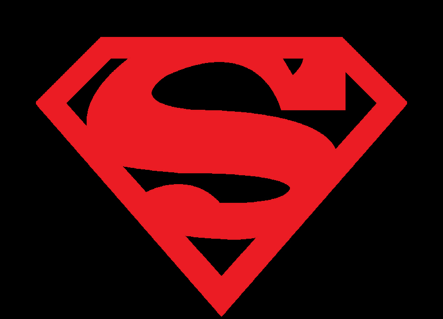 Superman Logo Stencil New Short Logos On Pinterest