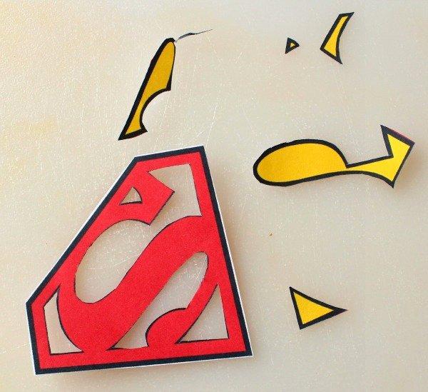 Superman Logo Stencil Unique Superman Cookies – the Sweet Adventures Of Sugar Belle