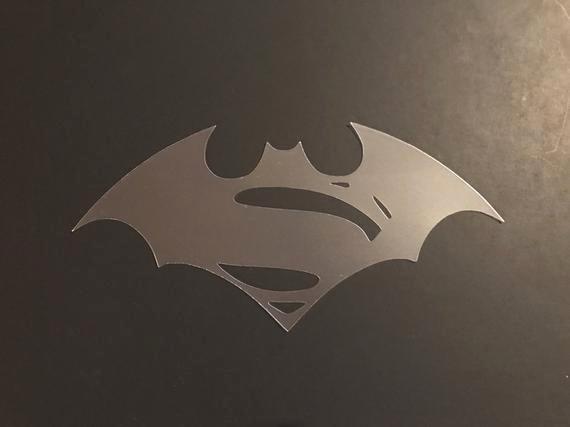 Superman Logo Stencils Best Of Batman Vs Superman Logo 1 Stencil 7mil Buy 2 Get 1 Free