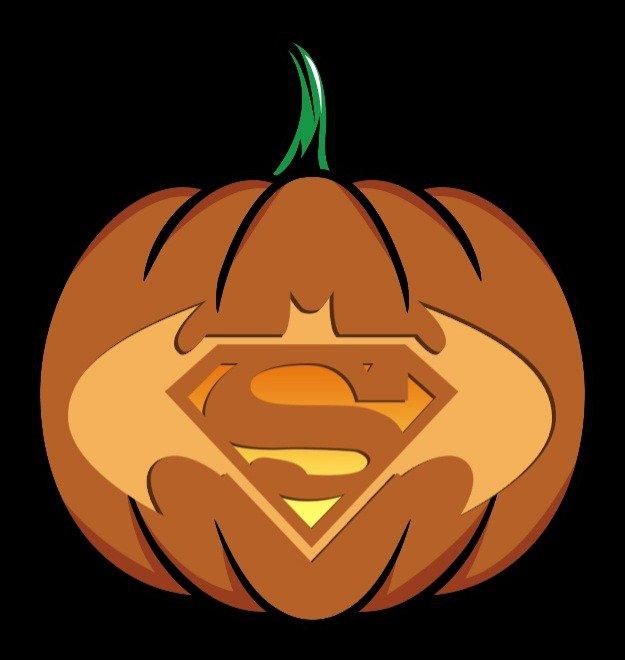 Superman Logo Stencils Fresh Pop Culture Pumpkins 2015 Edition [printables