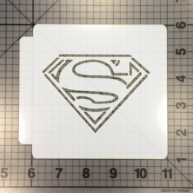 Superman Logo Stencils Luxury Superman Logo 100 Stencil