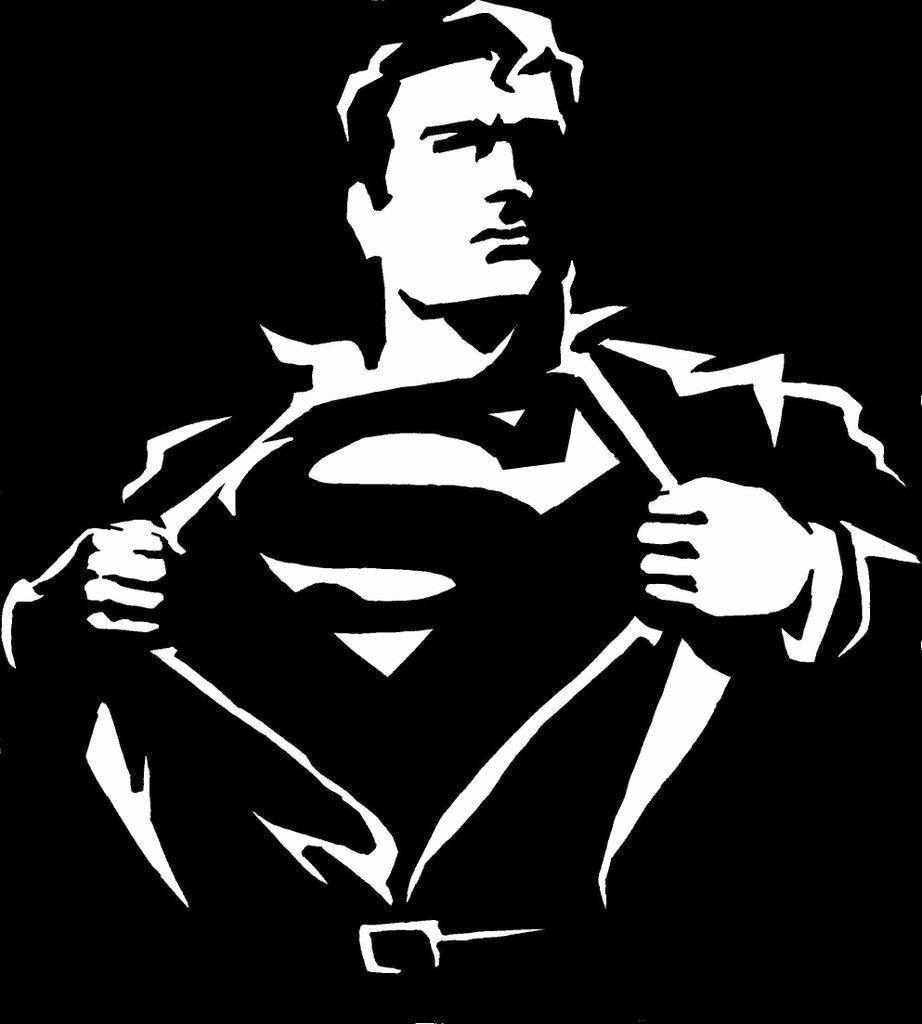 Superman Logo Stencils New Black Superman Wallpapers Wallpaper Cave