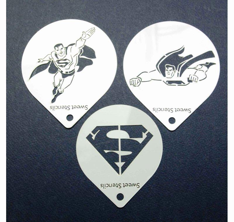 Superman Logo Stencils New Superman Stencil Set Set Of 3