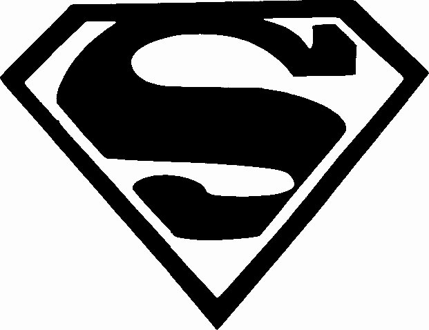 Superman Logo Stencils New Superman Stencil Tag Body Art