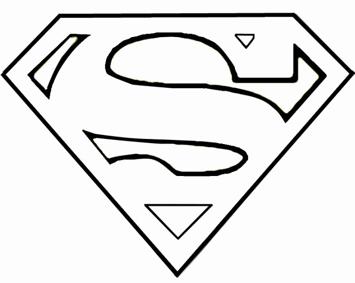 Superman Pumpkin Stencil Printable Beautiful Superman Stencil Clipart Best