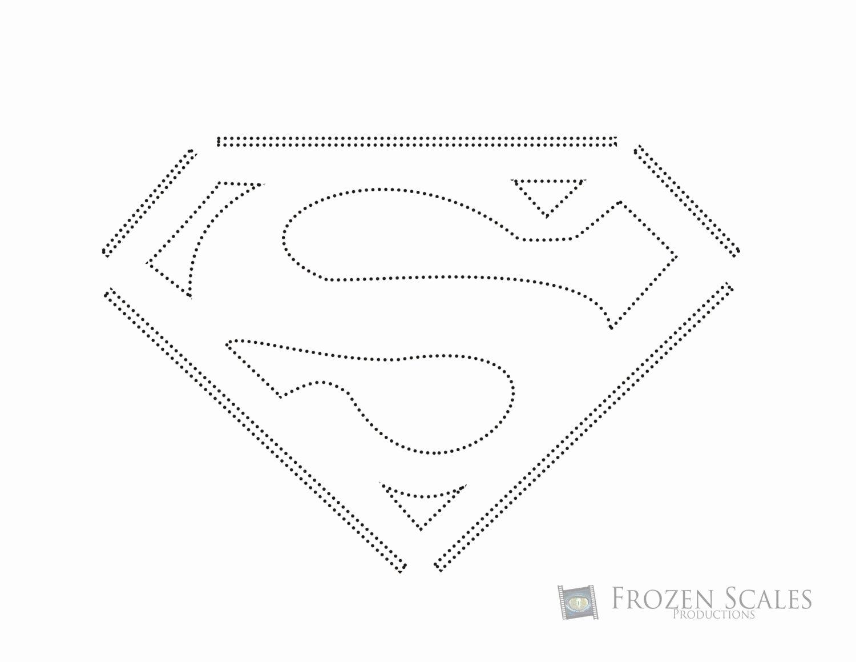 Superman Pumpkin Stencil Printable Fresh Superman Pumpkin Carving Pattern by Frozenscalesshop On Etsy