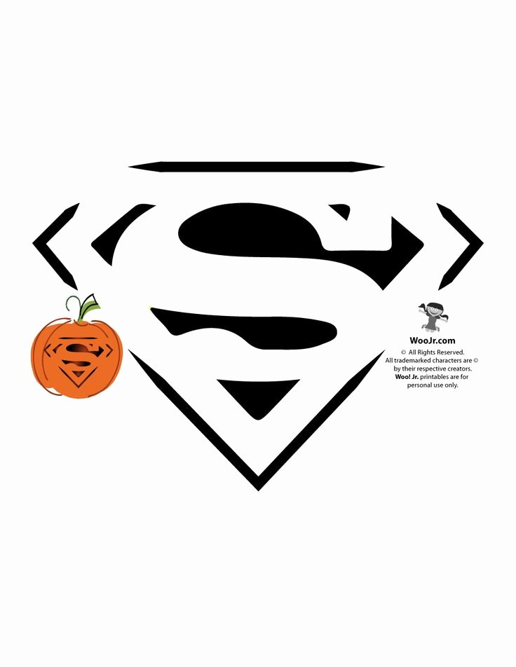 Superman Pumpkin Stencil Printable Lovely 25 Trending Superman Logo Ideas On Pinterest