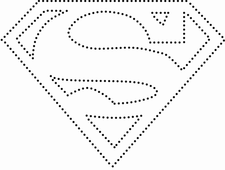 Superman Pumpkin Stencil Printable New Superman Logo Cards Superheroes Pinterest