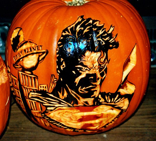 Superman Pumpkin Stencils Beautiful Superman Pumpkin by Rjclrutter On Deviantart