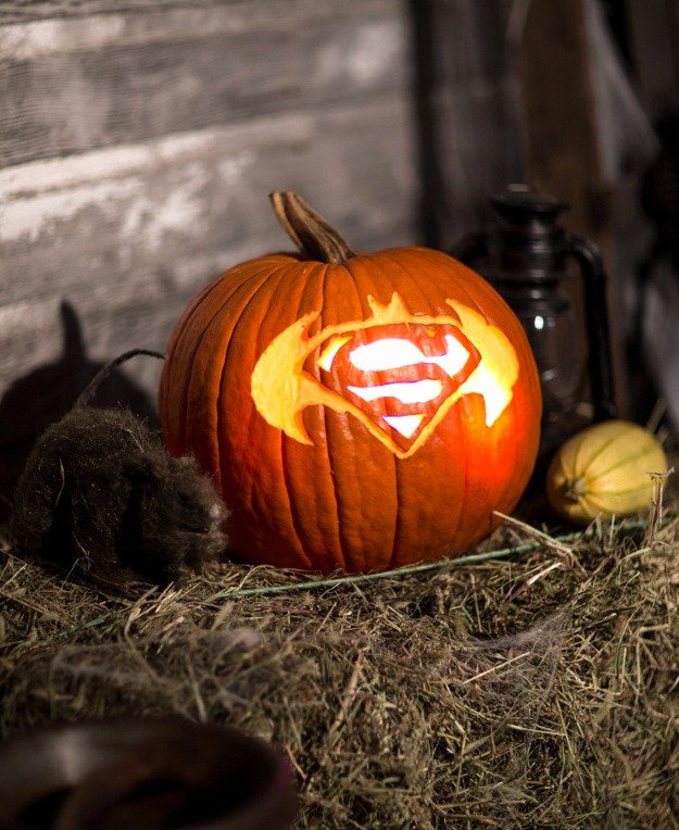 Superman Pumpkin Stencils New Pop Culture Pumpkins 2015 Edition [printables