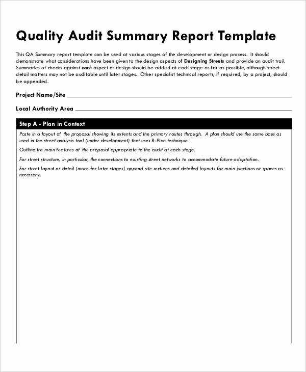 Supplier Audit Template Luxury 13 Quality Audit Report Templates Google Docs Word