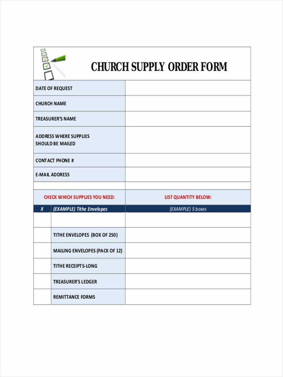 Supplies order form New 7 Supply Requisition forms Free Sample Example format