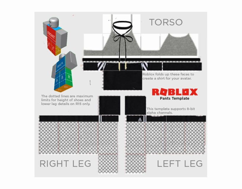 Supreme Roblox Template Awesome Gray Halter W Adidas Shorts Fishnet Roblox Shirt