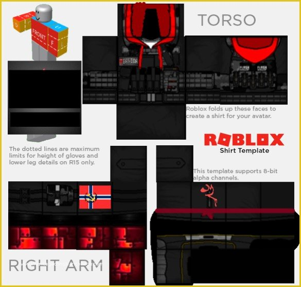 Supreme Roblox Template Luxury Free Roblox Templates Underfellsans006 tord