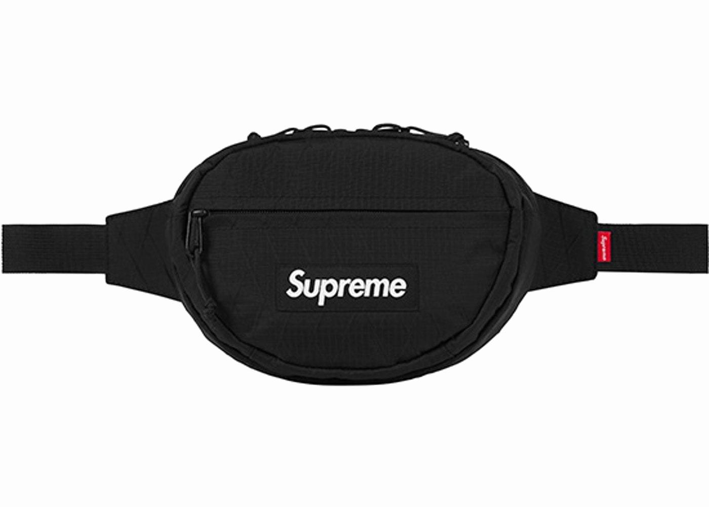 Supreme Template Roblox Awesome Supreme Waist Bag Fw18 Black – Lacedup