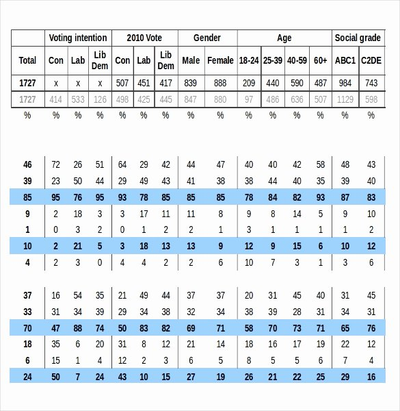 Survey Results Excel Template Inspirational Survey Template – 33 Free Word Excel Pdf Documents