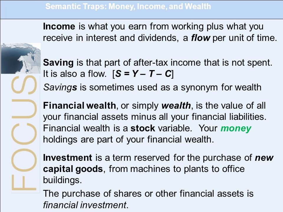 Synonym for Finance Lovely Savings is sometimes Used as A Synonym for Wealth Ppt