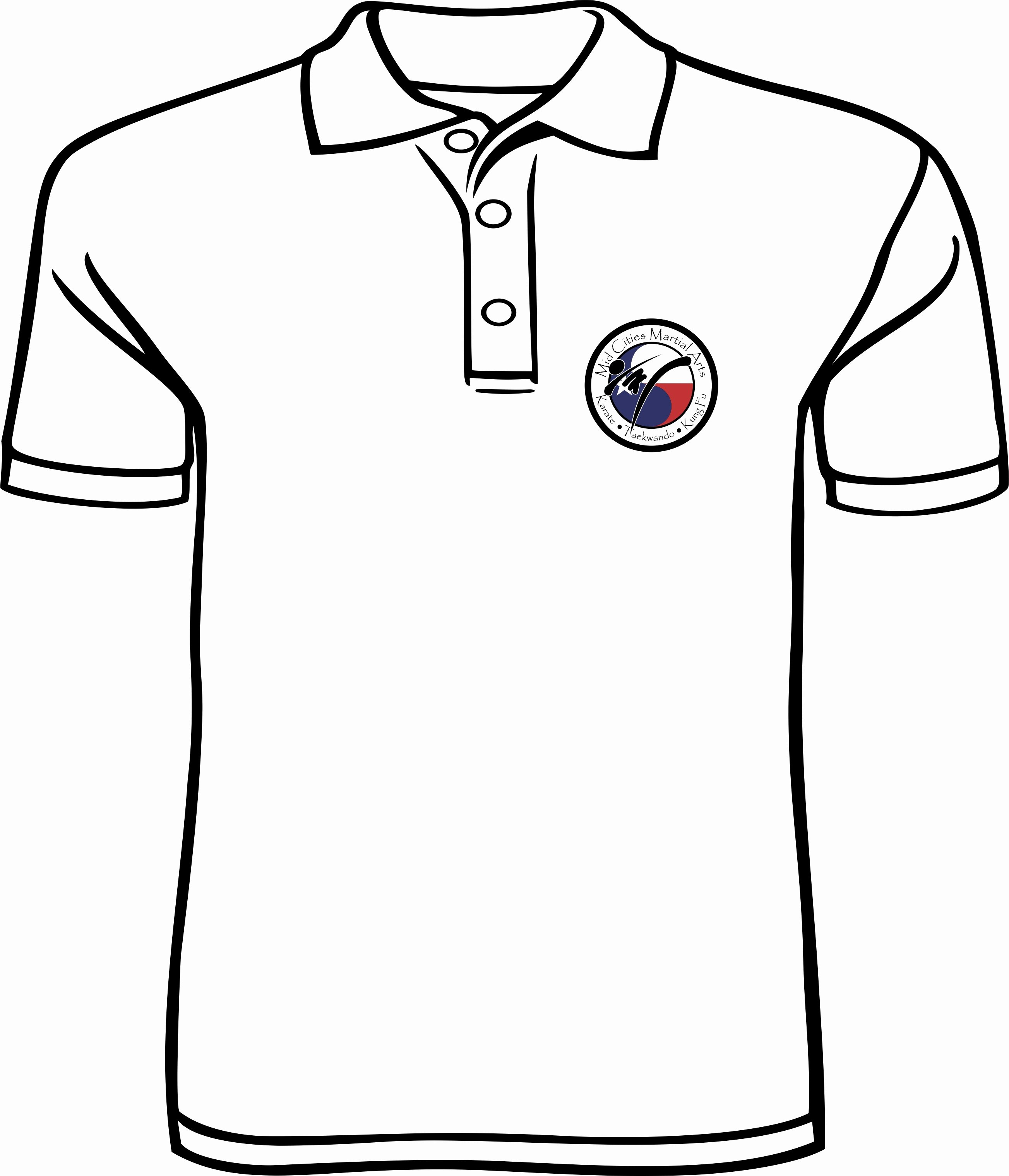 T-shirt Drawing Inspirational How to Draw A Polo Shirt Clipart Best