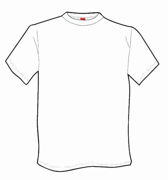 T-shirt Drawing Lovely Free T Shirt Printable Template Download Free Clip Art
