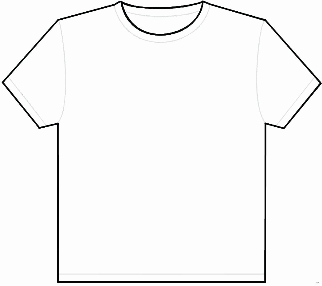 T-shirt Drawing Unique T Shirt Template Illustrator
