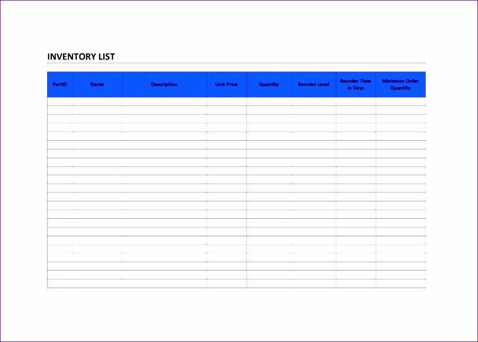T Shirt Inventory Spreadsheet Template Fresh 10 Free Inventory Spreadsheet Template Excel