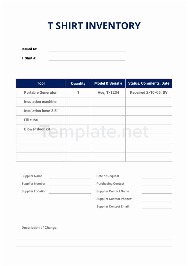 T Shirt Inventory Template Beautiful 22 Inventory Templates Word Docs Pdf