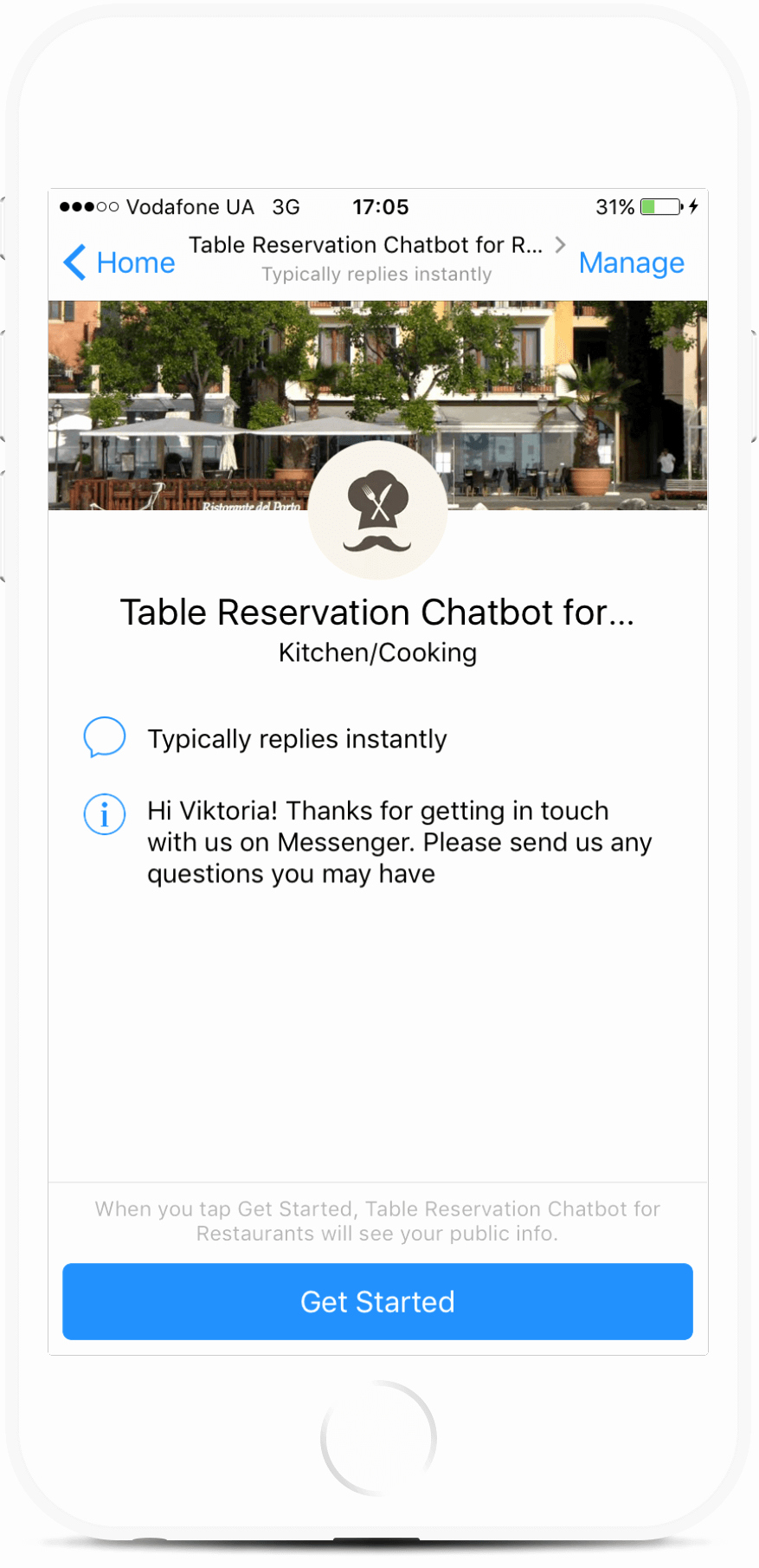 Table Reservation Template Beautiful 37 Chatbot Templates for Messenger Botmakers