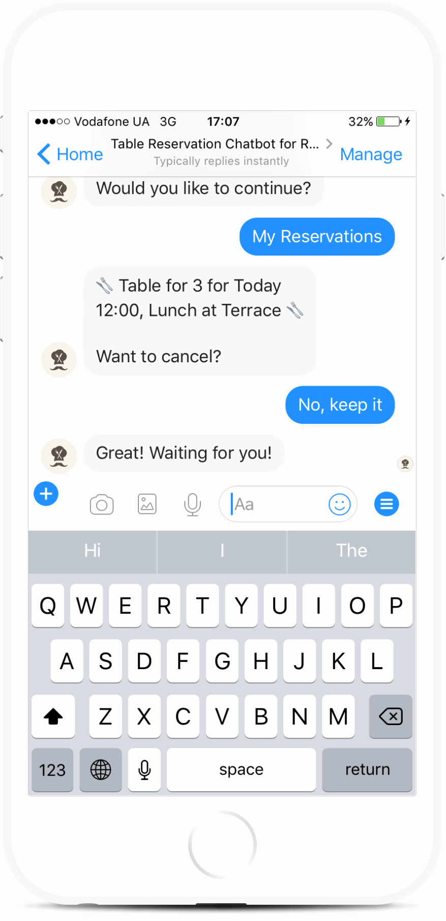 Table Reservation Template Best Of Restaurant Table Reservation Bot Template for Messenger