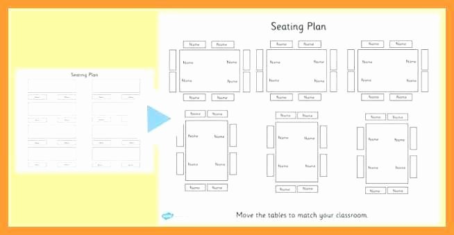 Table Seating Chart Template Microsoft Word Best Of 9 10 Office Seating Chart Template