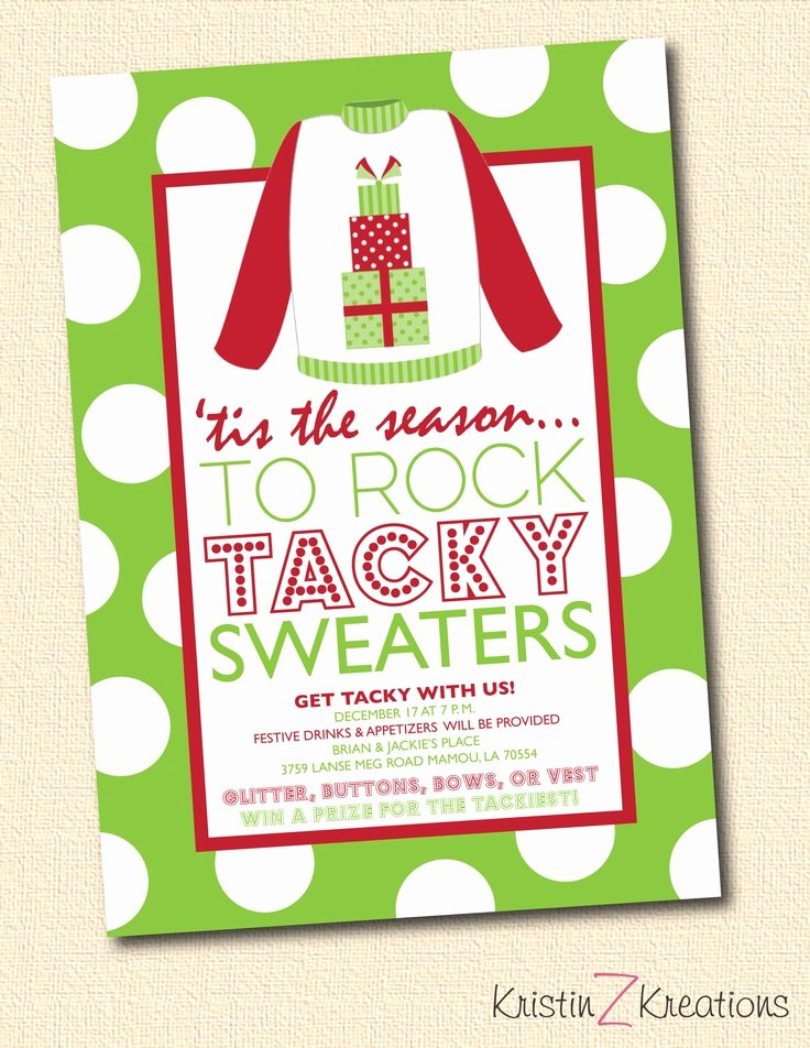 Tacky Christmas Sweater Party Invitation Wording Lovely 98 Best Images About Best Of the Worst Tacky Xmas On