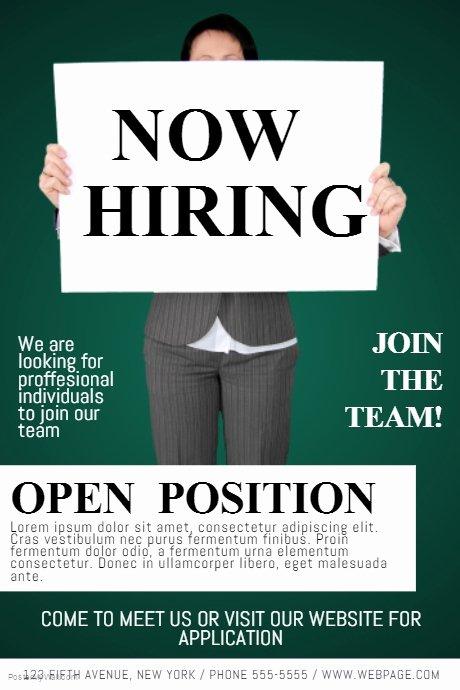 Teacher Brochure for Interview Template Best Of now Hiring Job Fair Flyer Template