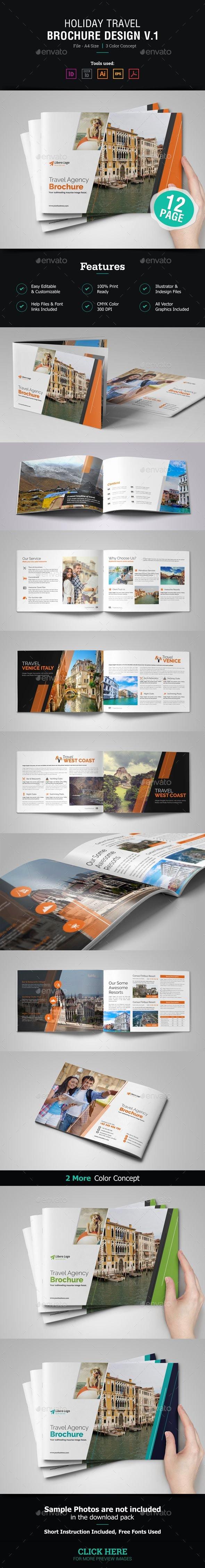 Teacher Brochure for Interview Template Inspirational 1000 Ideas About Travel Brochure Template On Pinterest