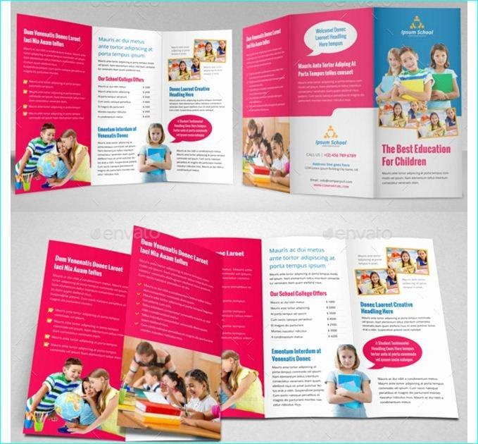 Teacher Brochure for Interview Template Unique 25 School Brochure Template for Education Institution