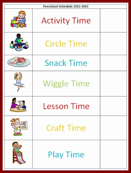 Teacher Daily Schedule Template Free Luxury Best 25 Daily Schedule Template Ideas On Pinterest