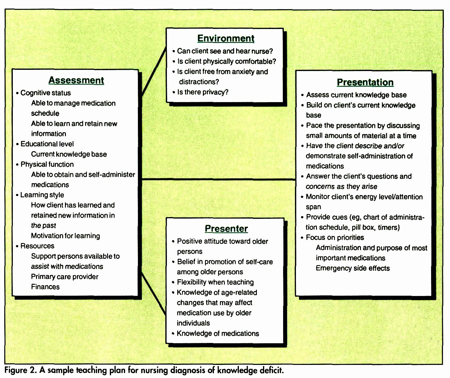 Teaching Plan for Nursing Unique Nursing Process Teaching Elderly Clients
